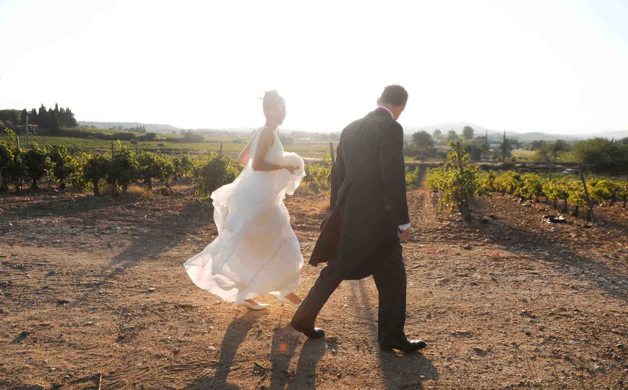 Perpignan wedding photographer Domaine de Rombeau Rivesaltes