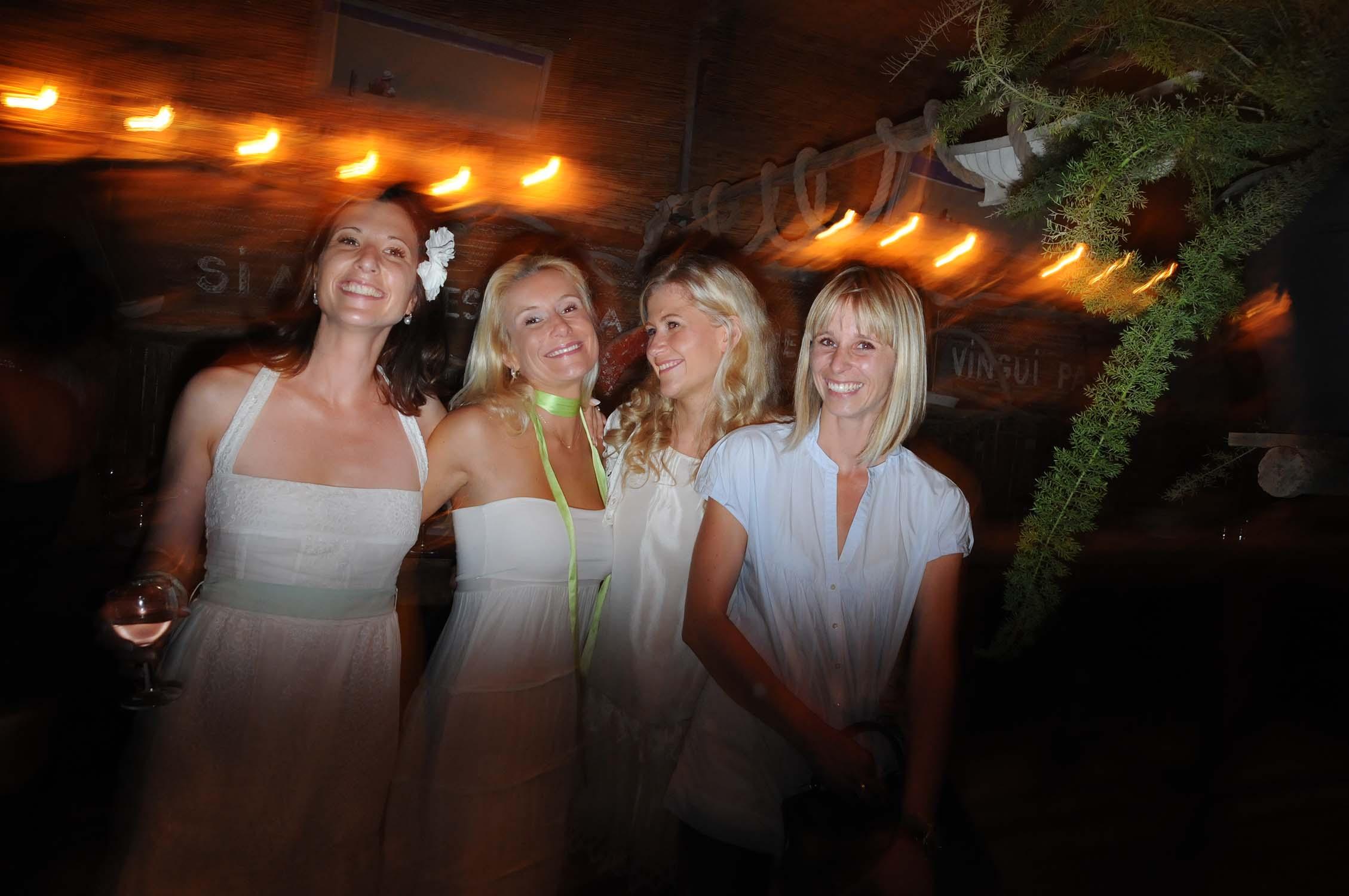 bridesmaids rehearsal dinner near Perpignan